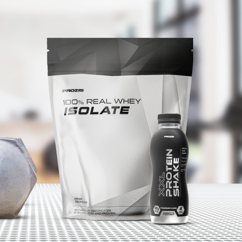 100% Real Whey Isolate 1000 g + XXL Protein Shake 500 ml Gratuit
