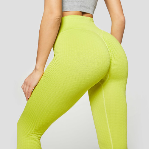 X-Skin Peach Perfect II Leggings - Neon Green