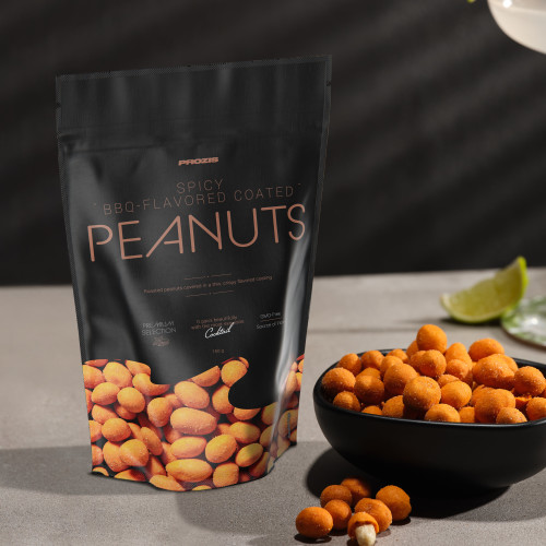 Spicy BBQ Sauce-Coated Peanuts 150 g - Gourmet Snack