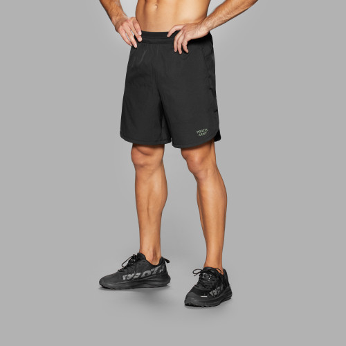 Army Running Shorts - Mustang Black