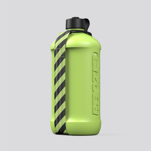 Botella Hydra - 3.0L Lime Green/Green
