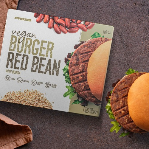 2 x Vegan Burger - Red Bean with Quinoa 80 g