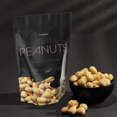 Sour Cream-Coated Peanuts 150 g - Gourmet Snack