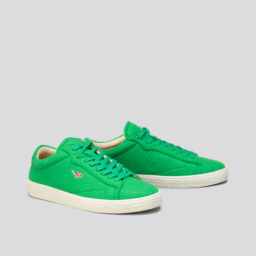 Sneakers - Match Felt Wimbledon Green