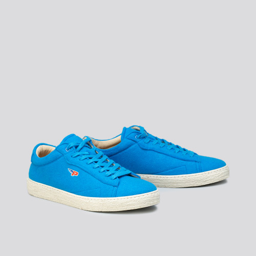 Sneakers - Match Felt Australian Blue