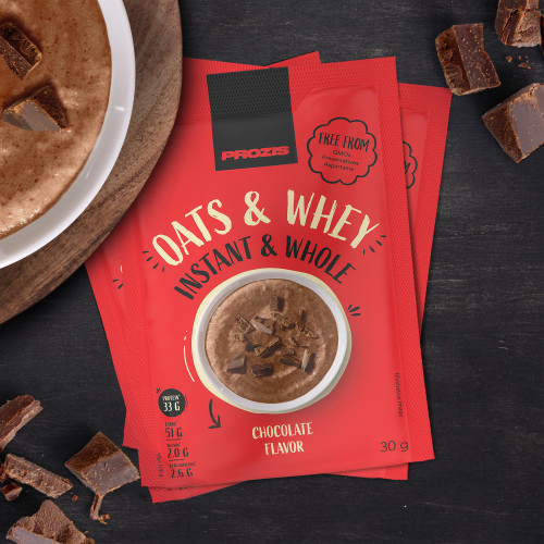 3 x Sachet Instant Whole Oats & Whey 30 g