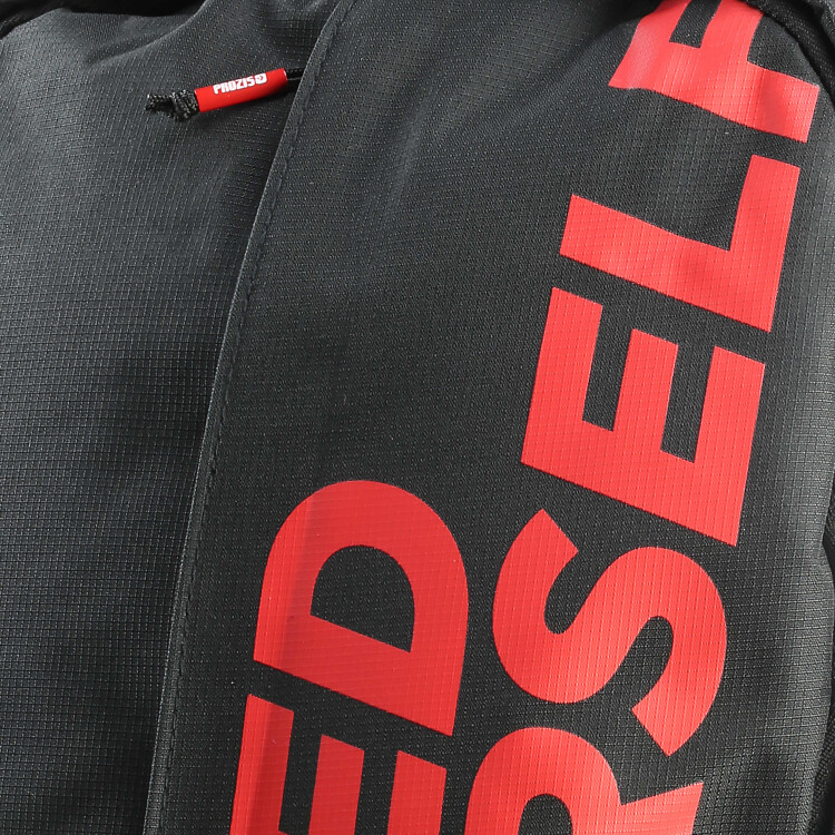 a34109071c Exceed Yourself Black-Red Backpack - Accessories