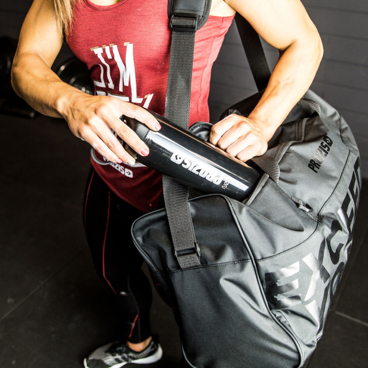 0cb5b779a6 Exceed Yourself Black-Black Gym Bag - Accessories
