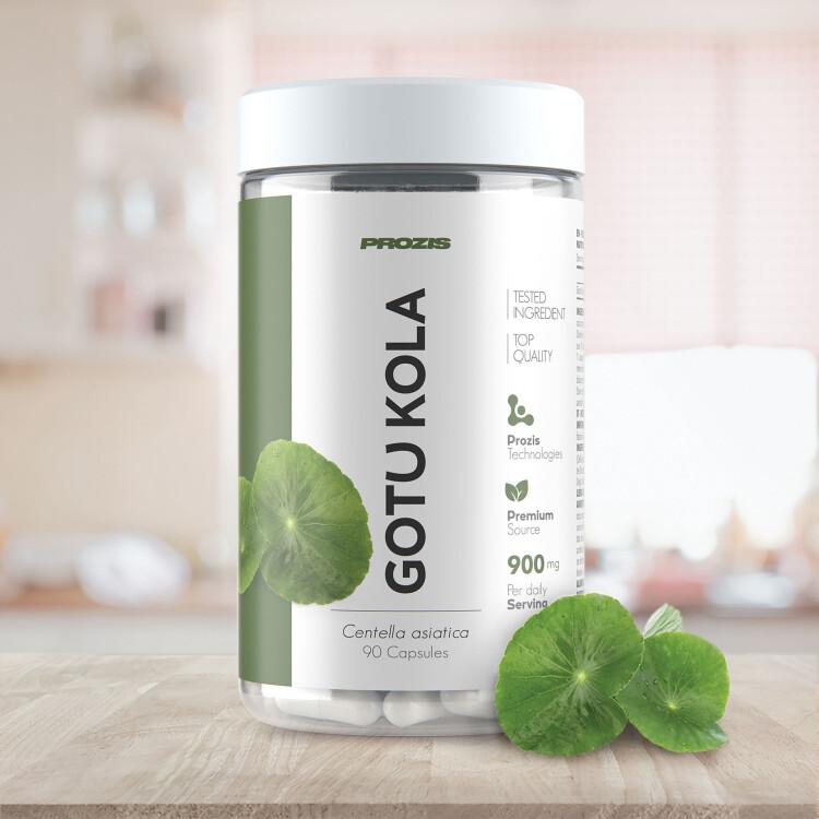 Gotu Kola (Centella asiatica) 900 mg 90 caps - Benessere