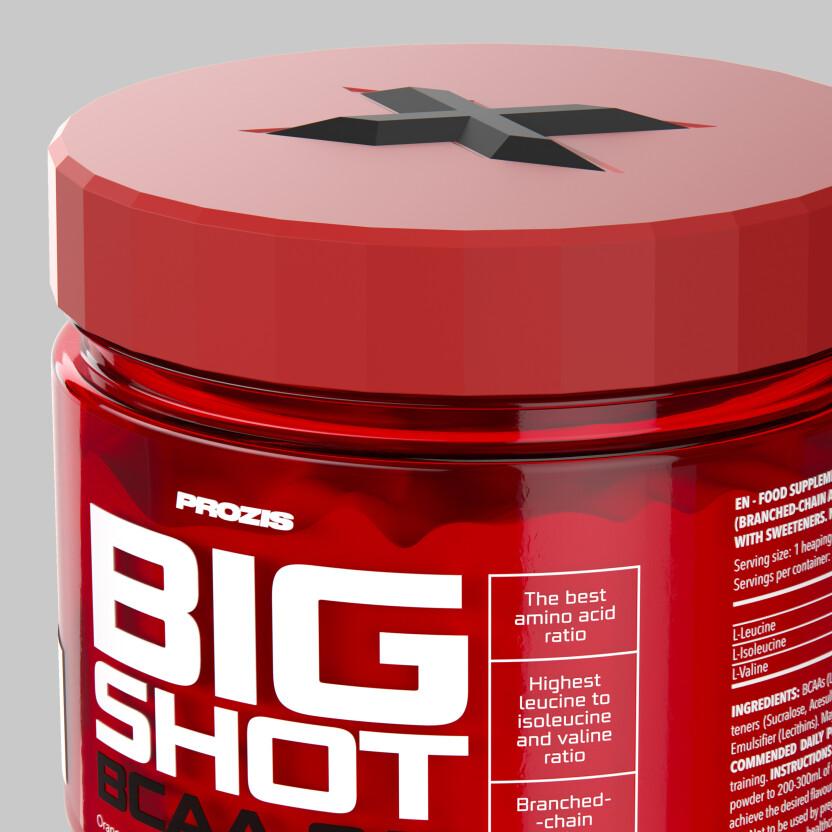 Amino Z Team Womens Weight Lifting Bodybuilding Gym: Big Shot - BCAA 8:1:1 150 G - BCAAs & Amino Acids