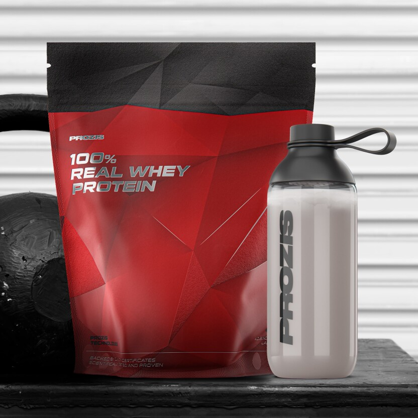 4119bfda8 100% Real Whey Protein 1000 g - Proteína