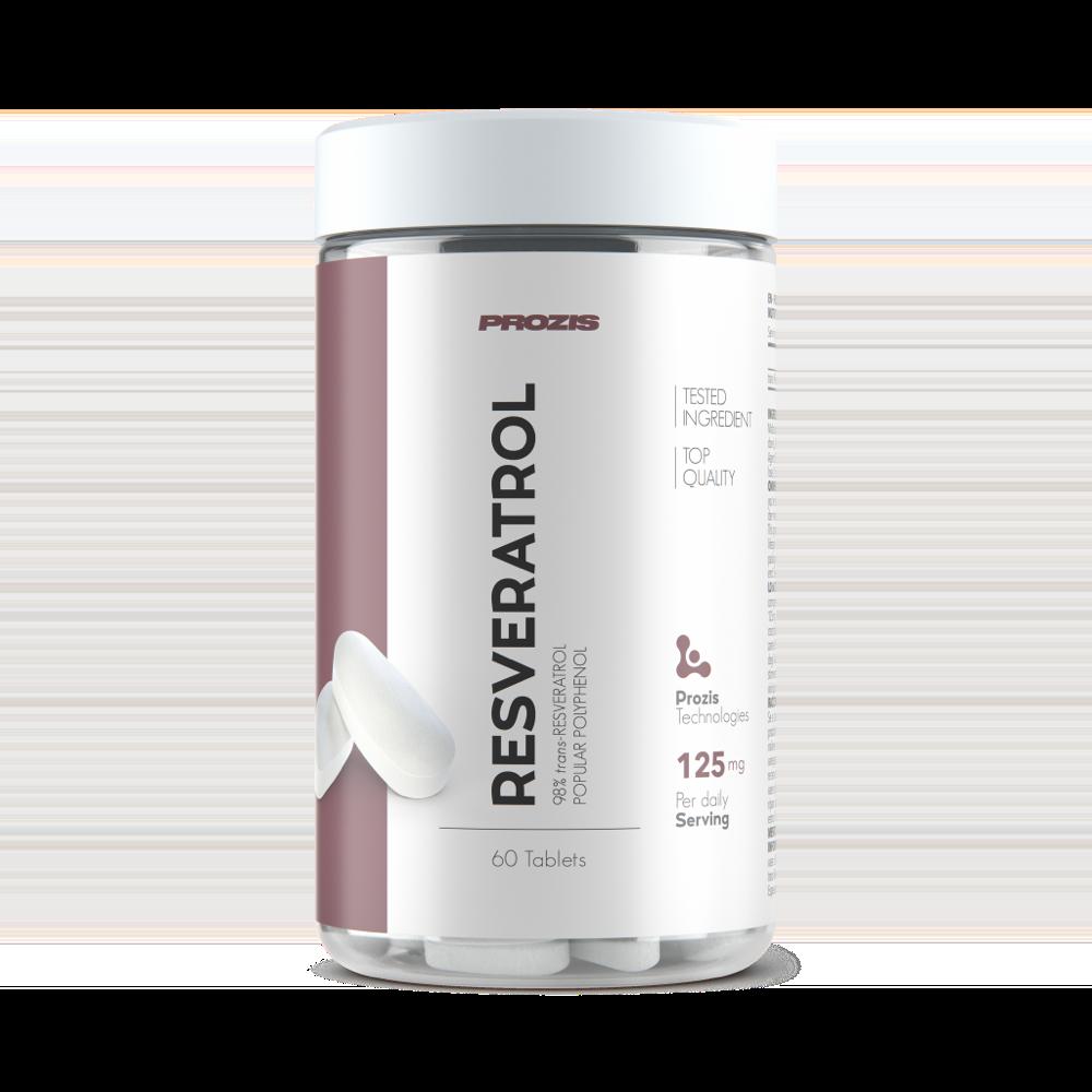 Resveratrol 98% 125 mg 60 tabs
