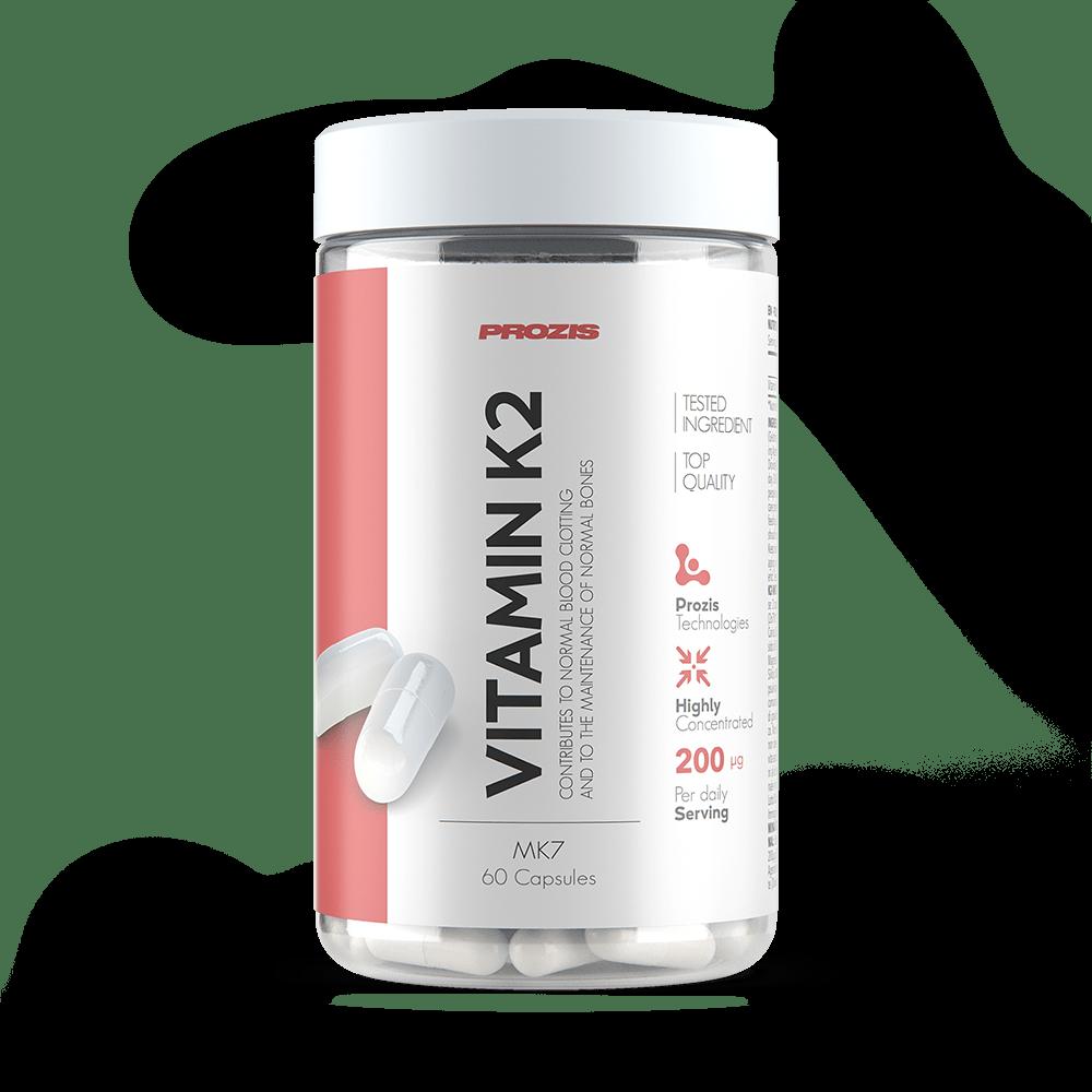 vitamin k2 mk7 100mcg 60 caps sportlergesundheit prozis. Black Bedroom Furniture Sets. Home Design Ideas
