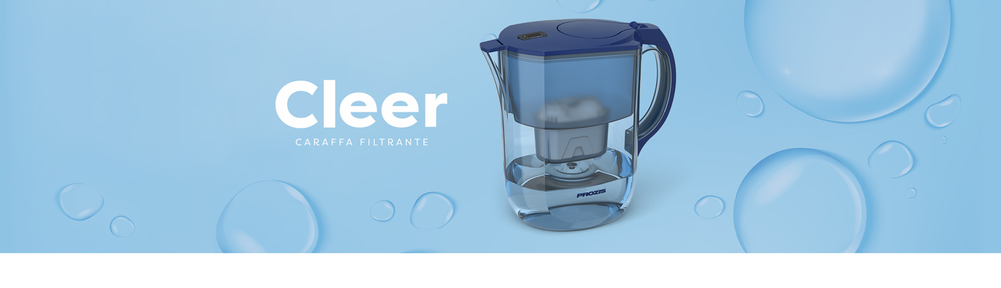 cleer water filter jug