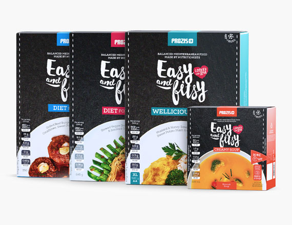 Gama de Produtos Easy and Healthy