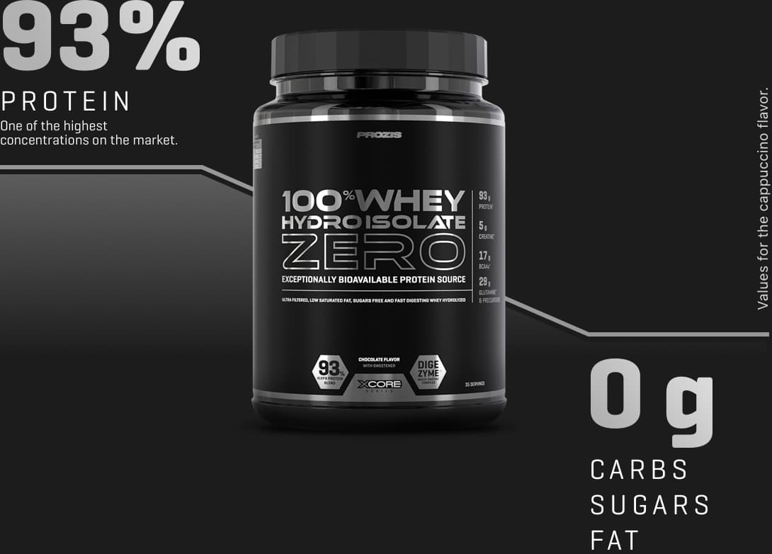 100% Whey Hydro Isolate Zero SS