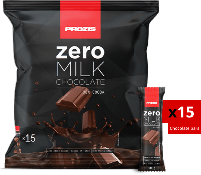 Prozis Zero Milk Chocolate