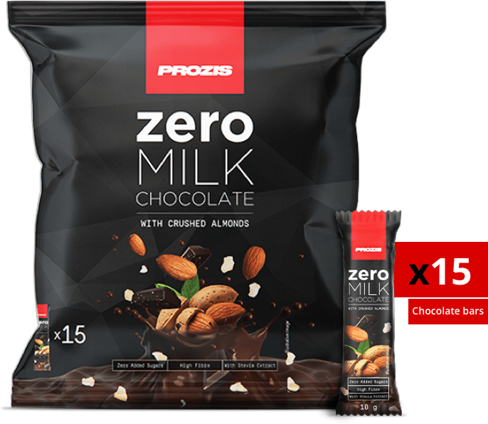 Zero Milk Chocolate with Almonds