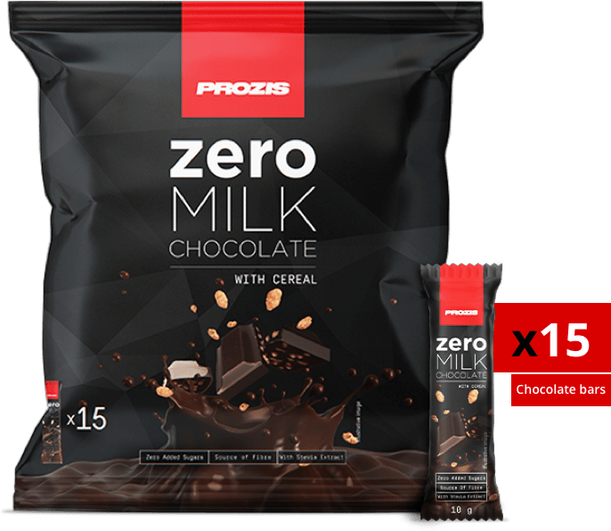 Zero Milk Chocolate with Cereal