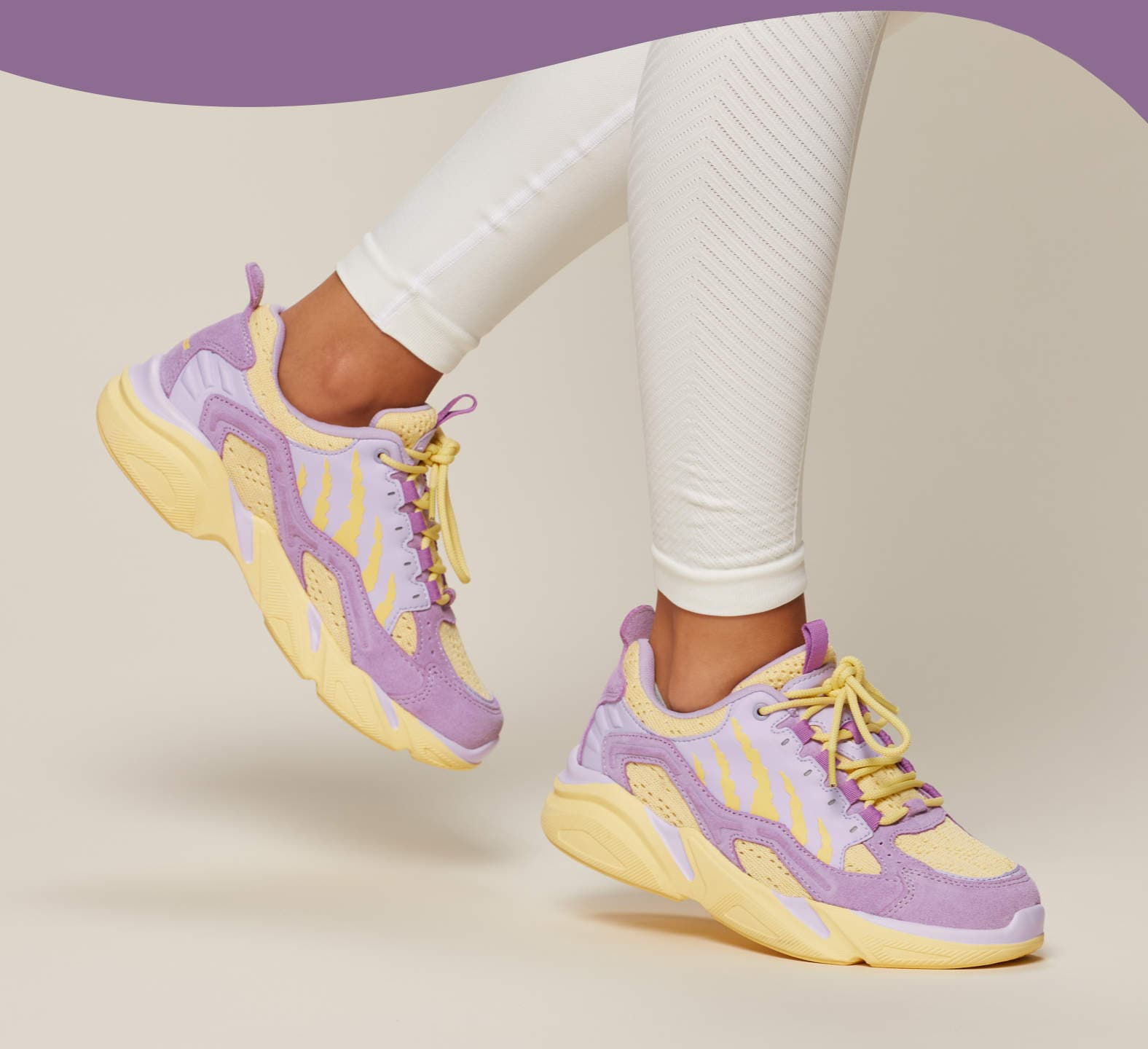 Crush Alpine Sneakers - Lavender Purple