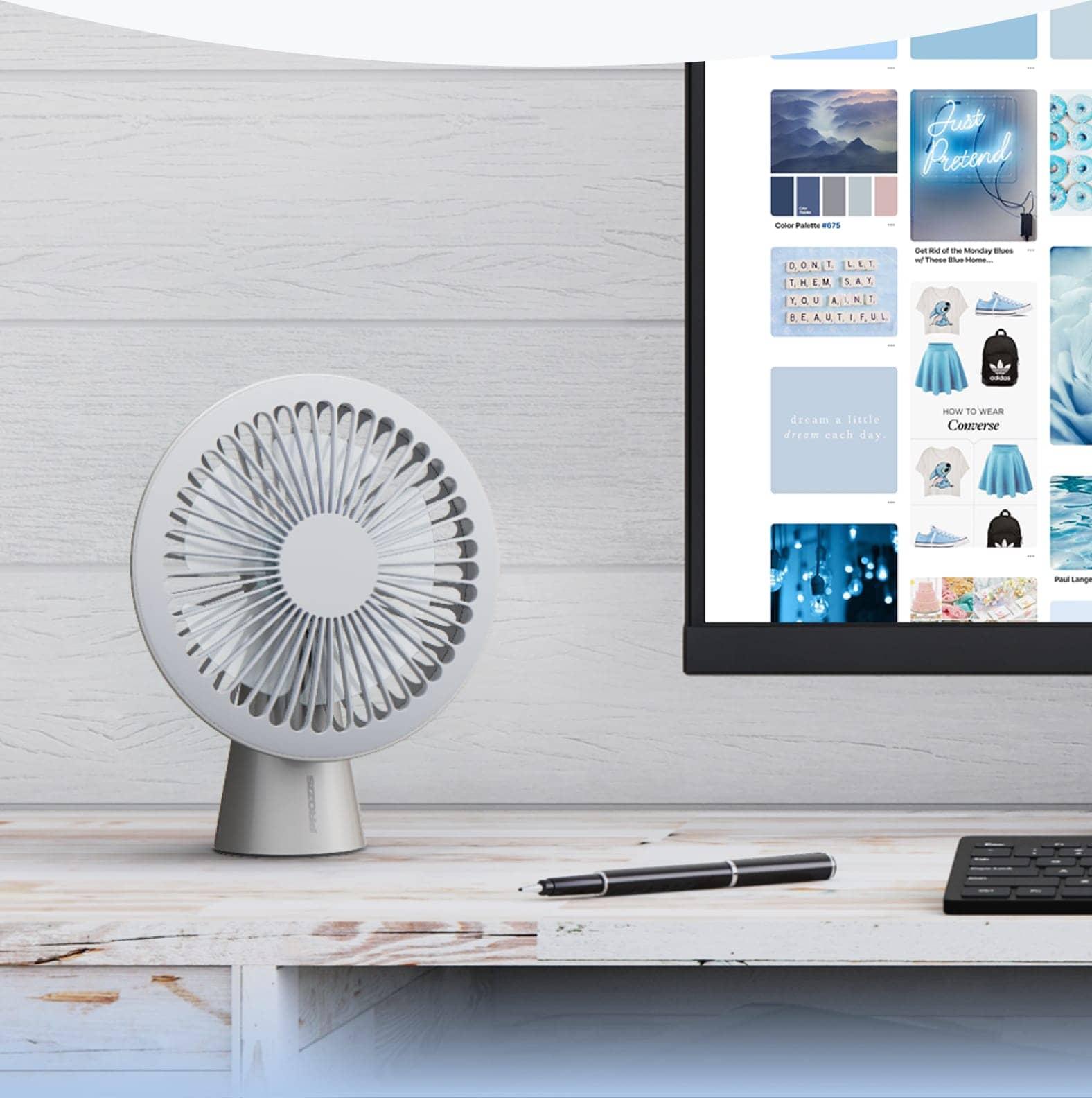 Ventilateur USB Bree — Cream