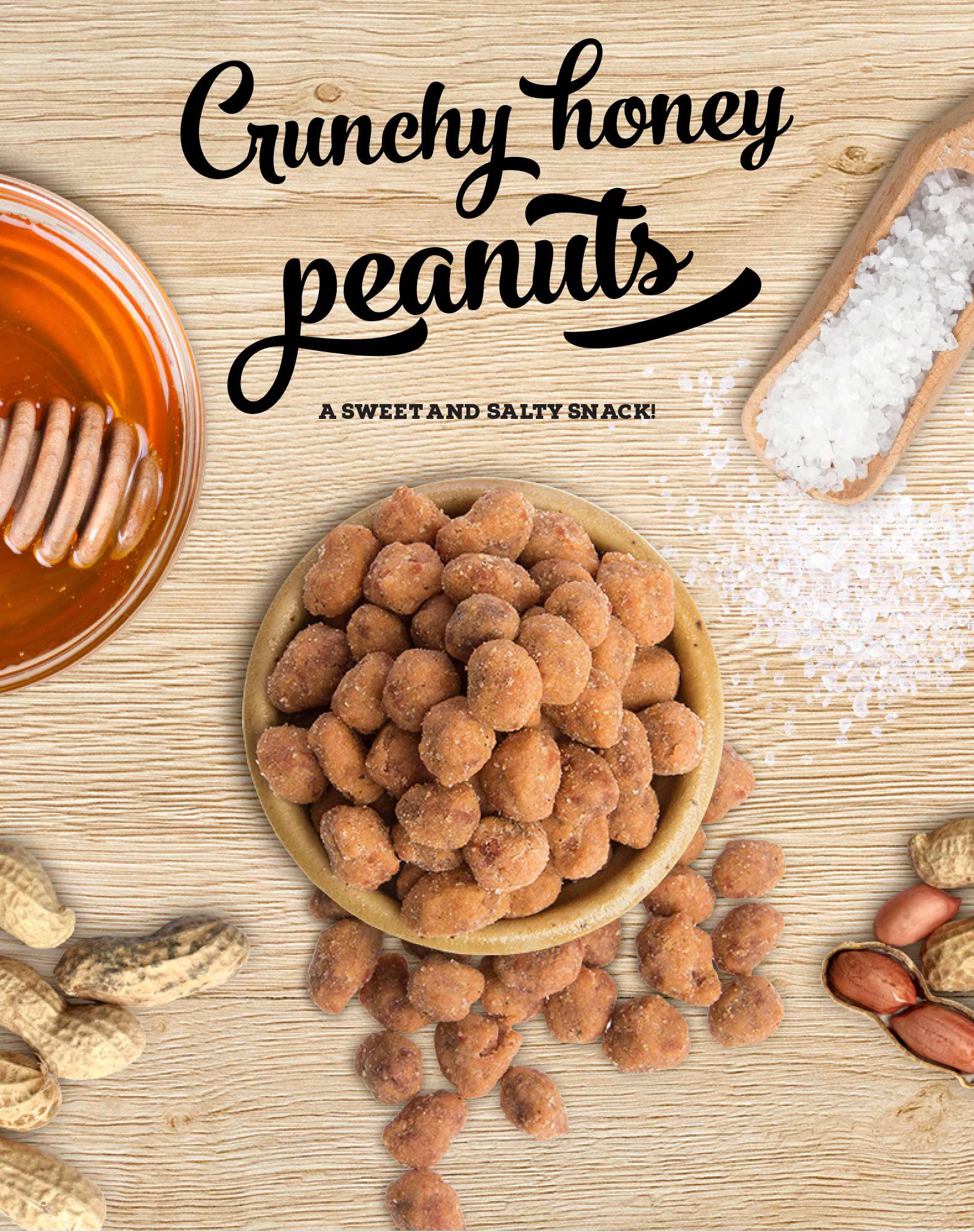Prozis Crunchy Honey Peanuts