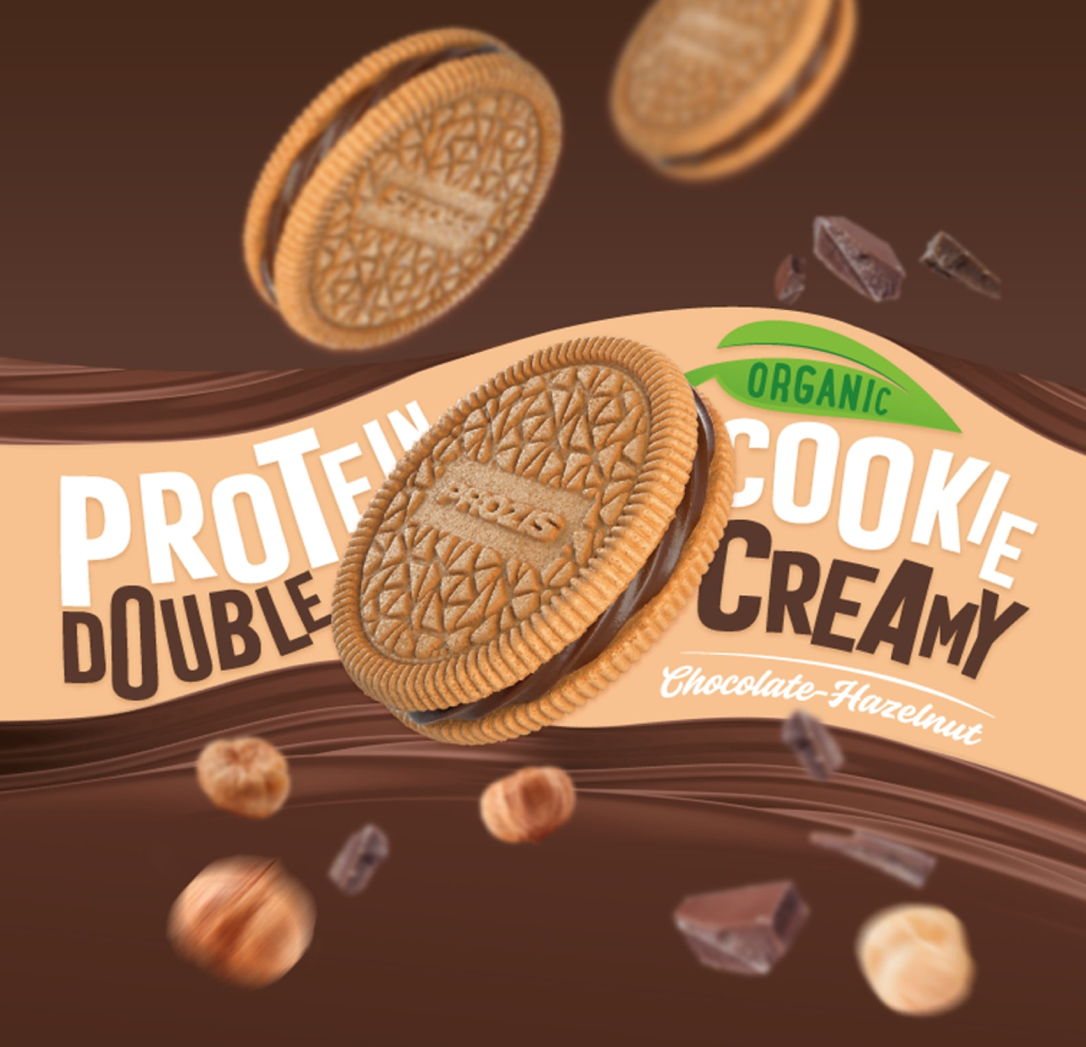 Prozis Double Creamy Protein Cookie