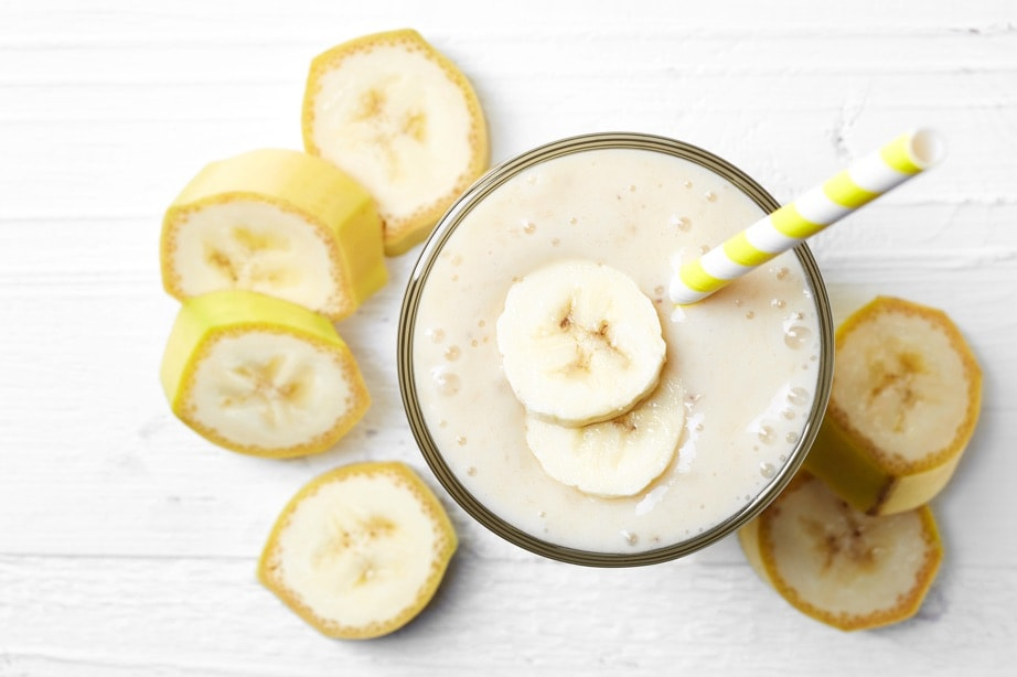 100% Egg White Smoothie