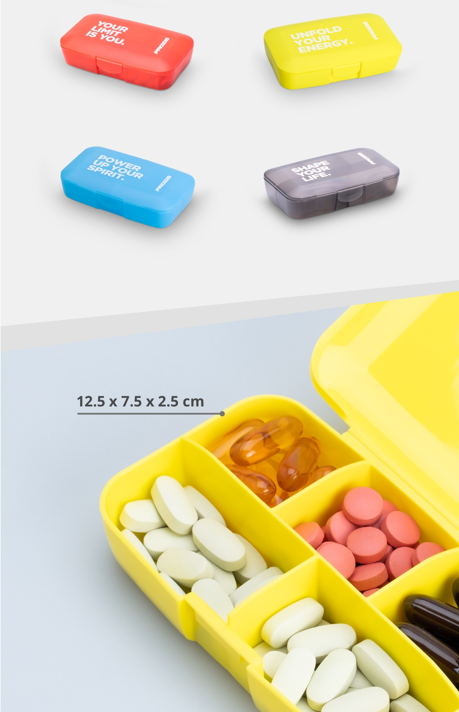 Prozis Pillbox container