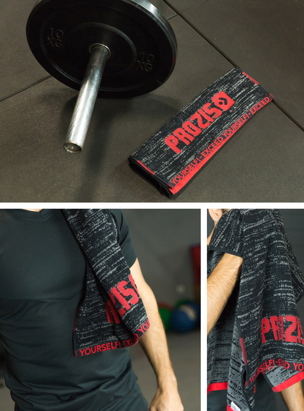 Prozis Black Fire Towel