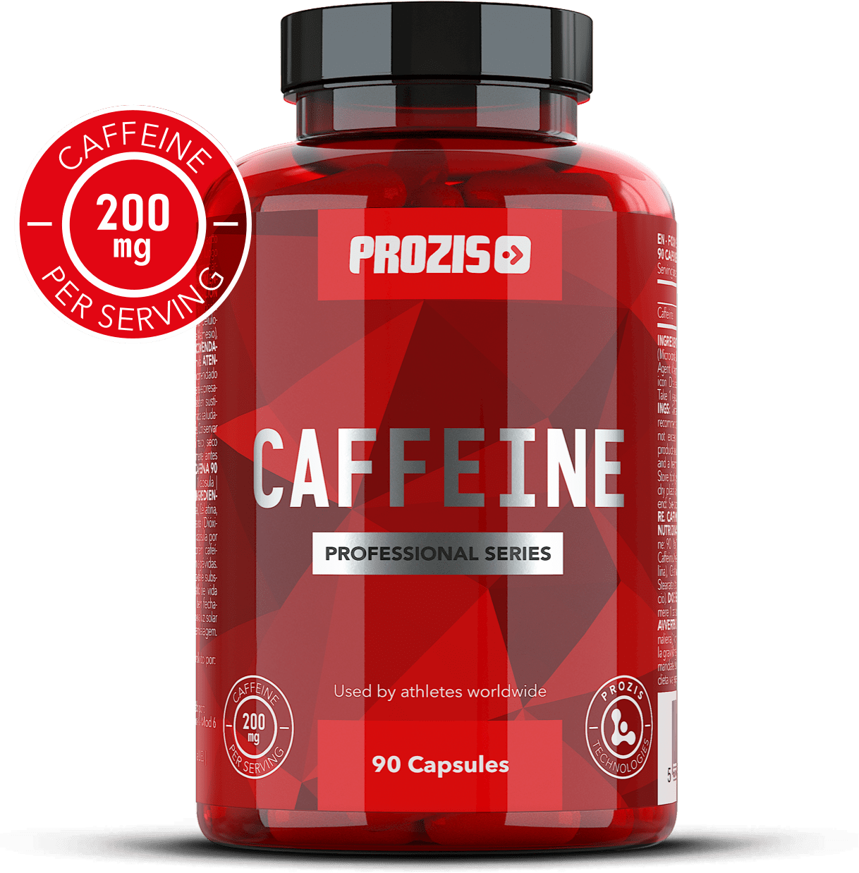 Caffeine Professional 200 mg 90 caps