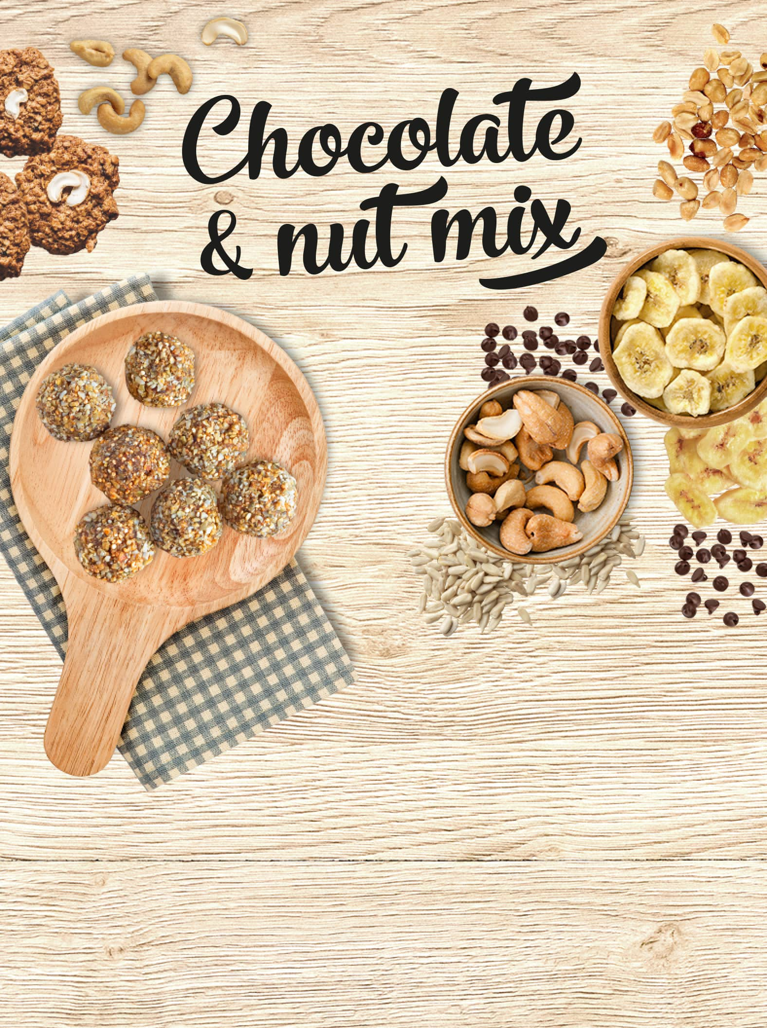 Prozis Chocolate & Nut Mix