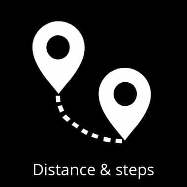 Distance tracking
