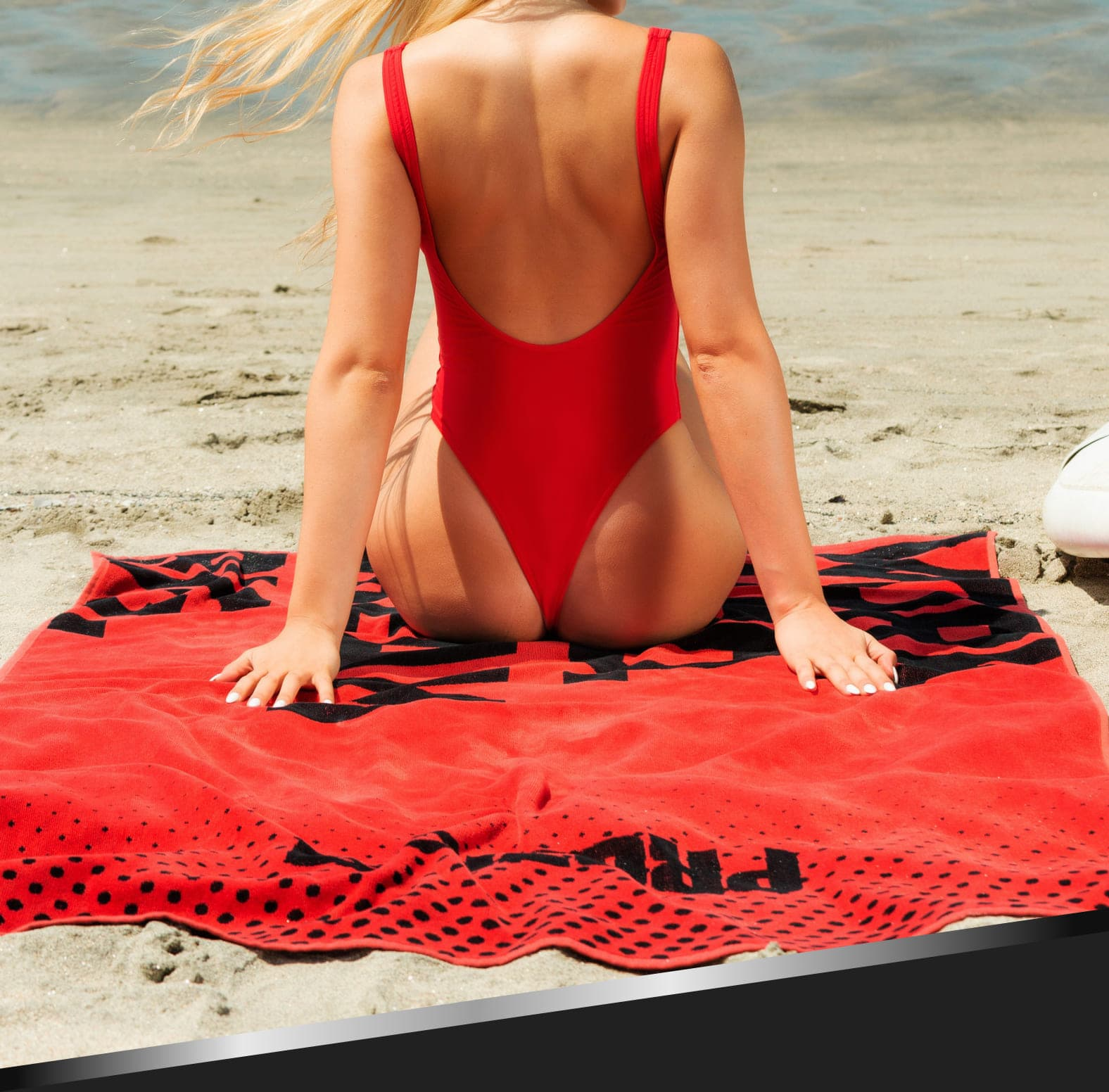 Prozis Goals & Mission Beach Towel