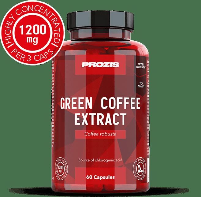 dosaggio di estratto di chicco di caffè verde
