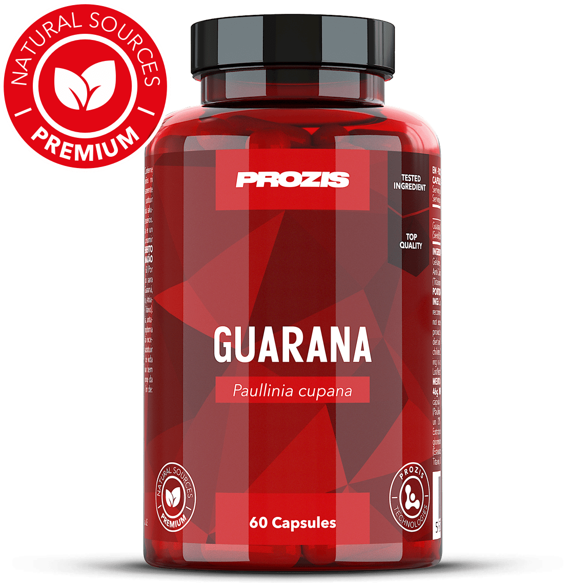 Prozis Guarana 500mg