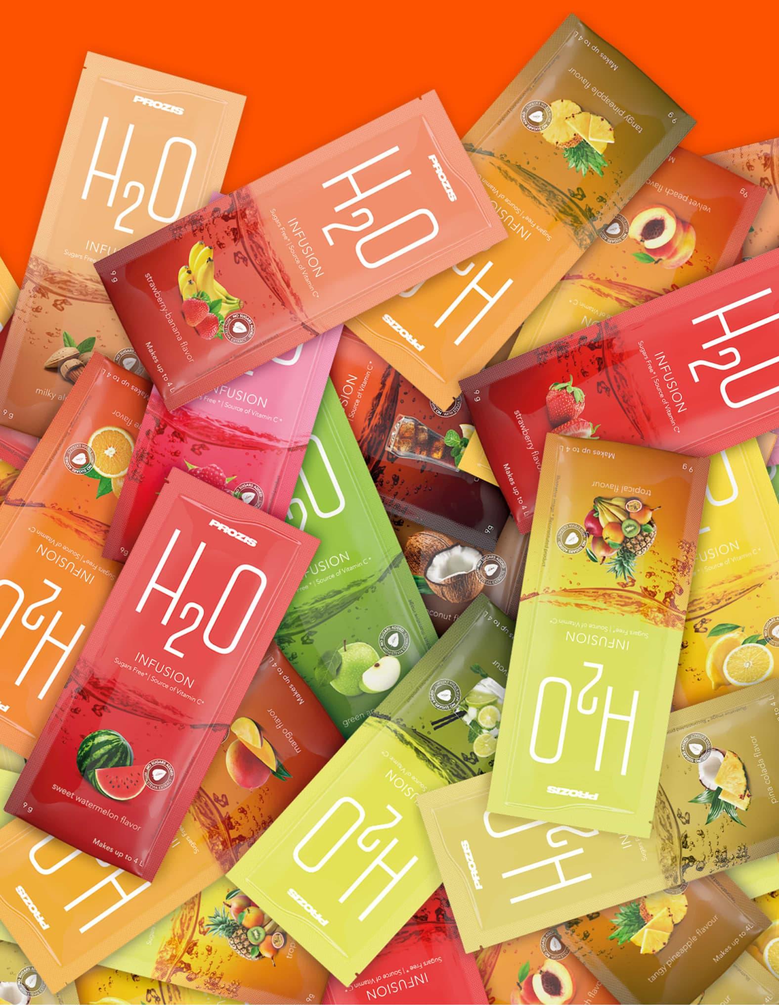 Prozis H2O Flavours