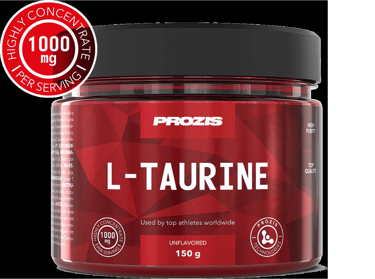 Prozis L-Taurine 150g