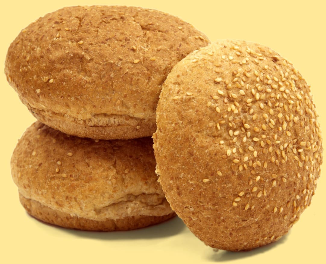 Lean Burger Buns - Sesame Seeds