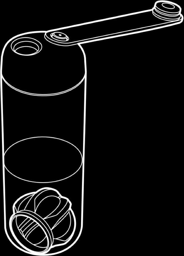 Prozis-Neo-Mezclador-Botella-2-0-Tintado-Acero-negro