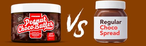 Comparing choco spread