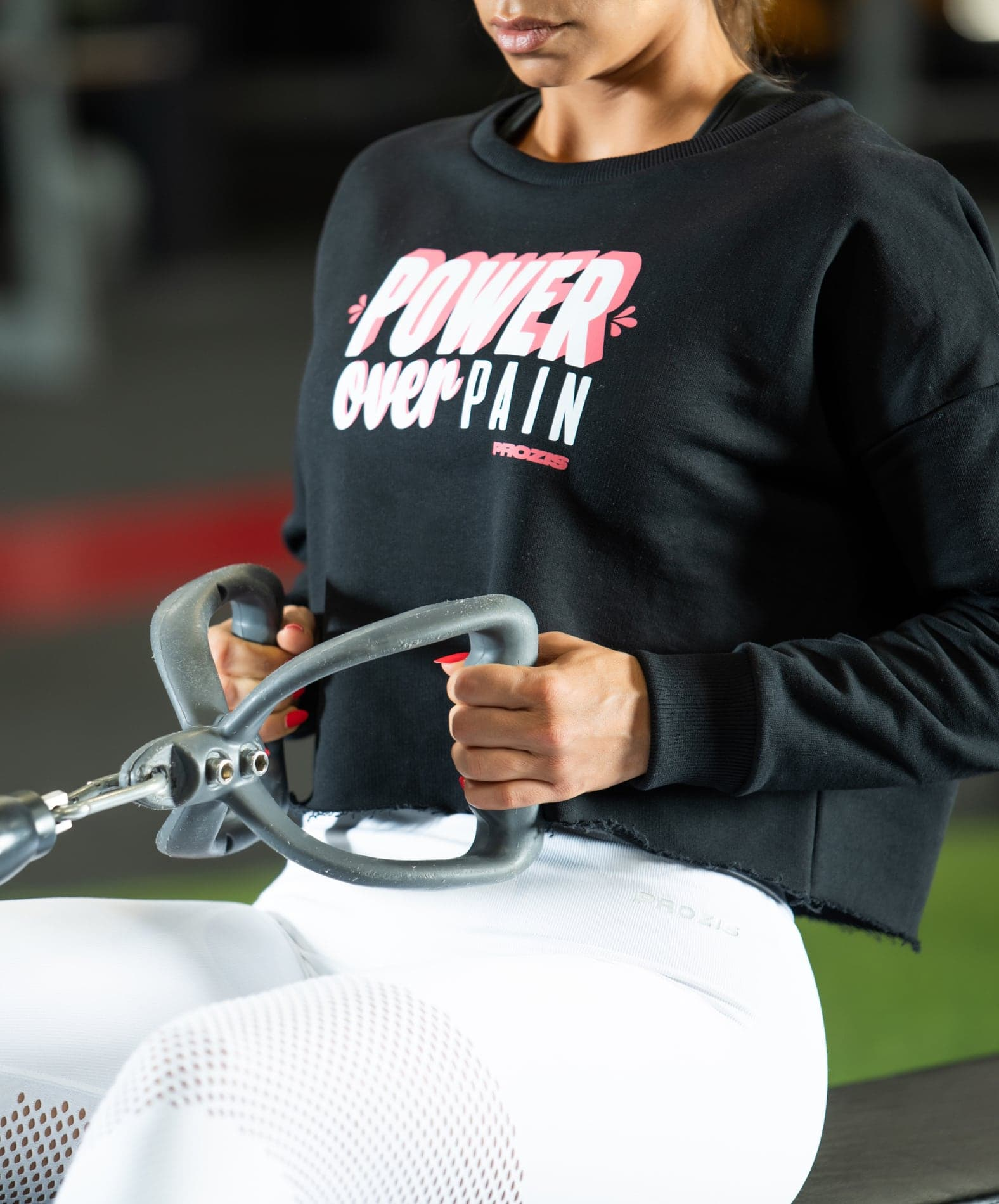 Prozis Power Up Crop Sweat