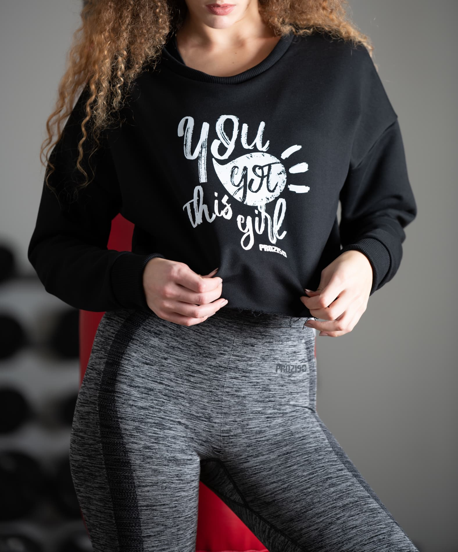 Prozis Power Crop Sweat