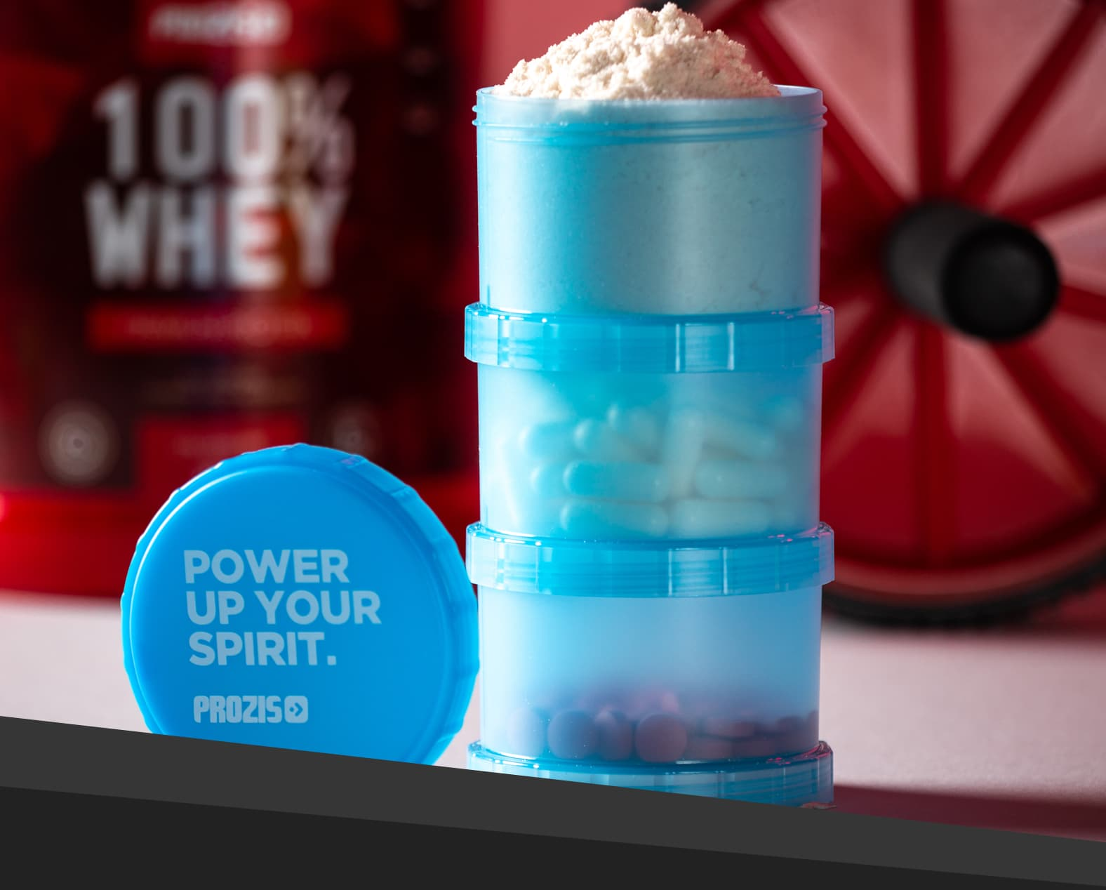 Prozis Powder Container