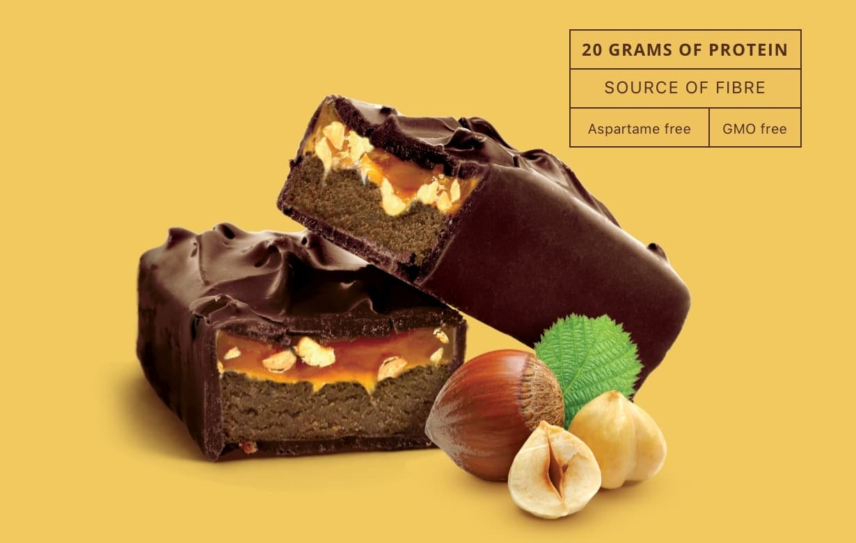 Dark Chocolate Hazelnuts Bar