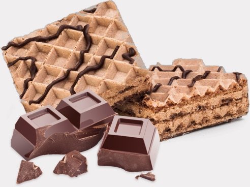 Protein Wafers Chocolate