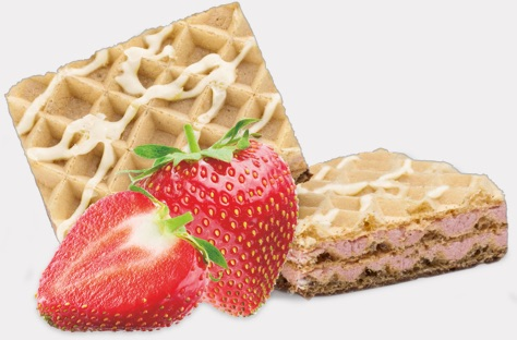 Protein Wafers Strawberry