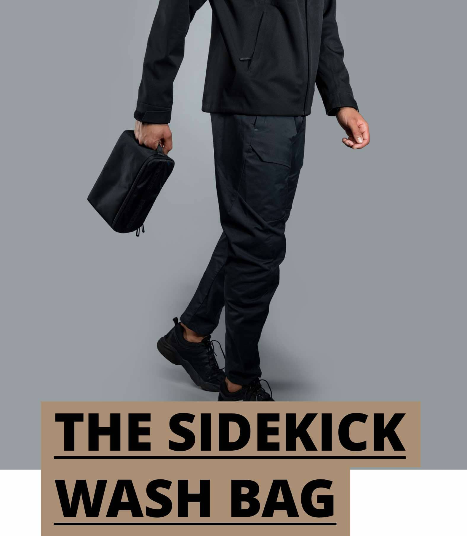 The Sidekick Wash Bag