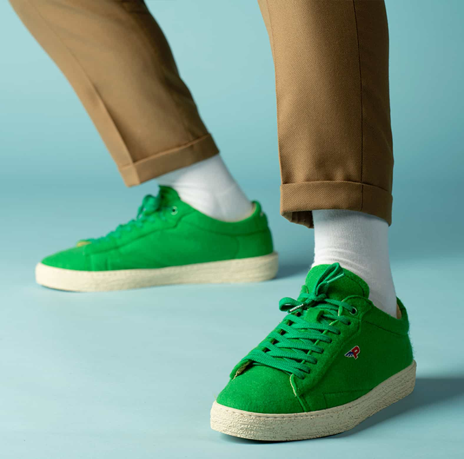 Sneakers Match Felt Wimbledon Green