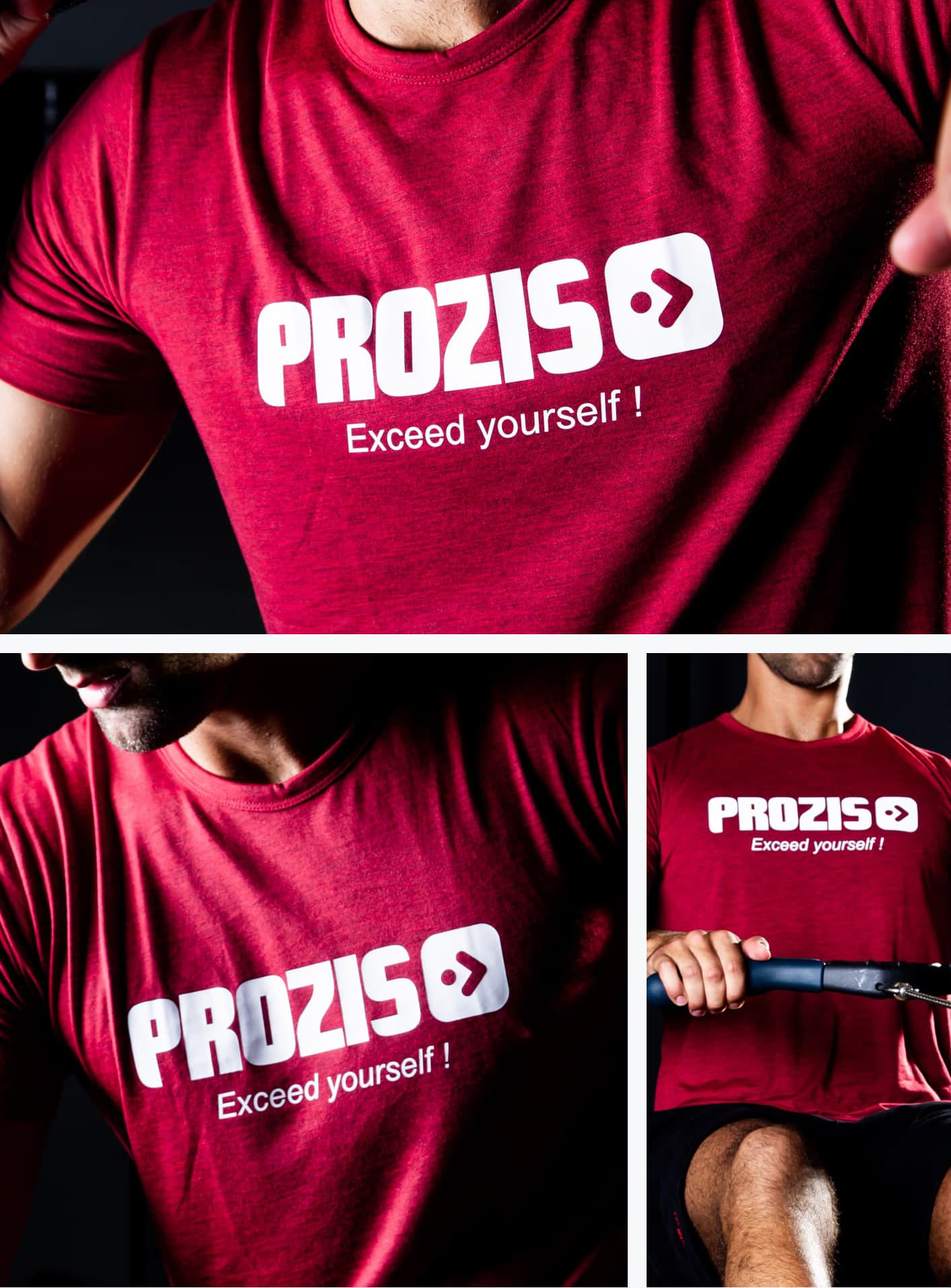 Prozis T-Shirt Exceed Yourself